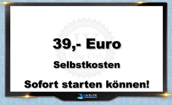 39 Euro Selbstkosten jveliteclub