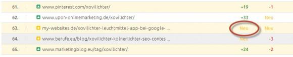 Xovilichter App Beitrag auf my-websites.de