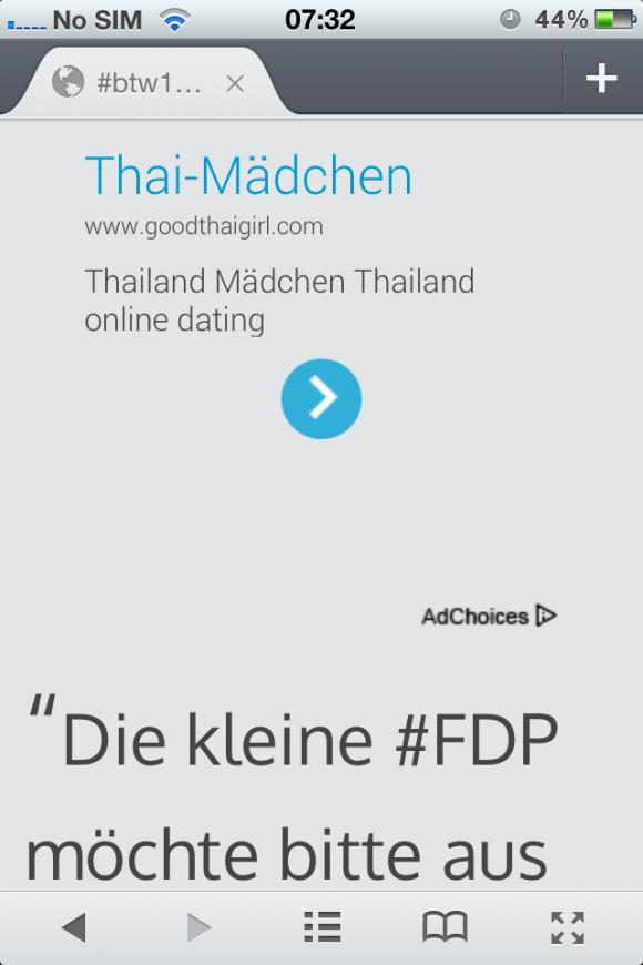 FDP Werbung