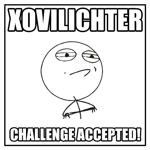 Xovilichter - Challenge accepted